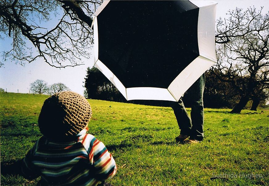 The Big Umbrella No1 by Sutthida Hughes
