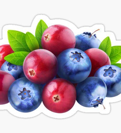 Pile of fresh berries Sticker