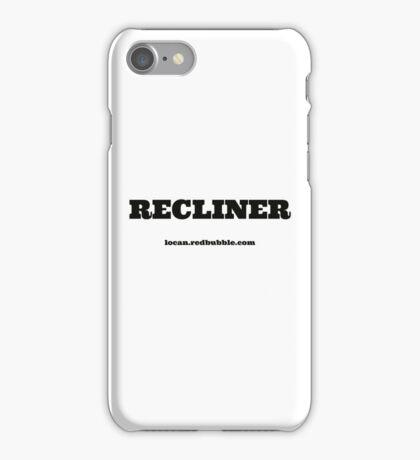 RECLINER iPhone Case/Skin