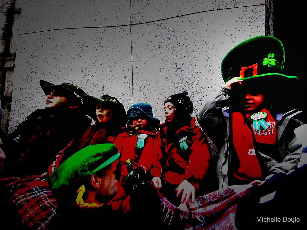 Little leprechauns - Dublin by Michelle Doyle