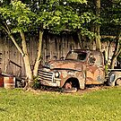 """""""Old Clunker, The Side View""""... prints and products by © Bob Hall"""