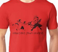 Greetings from Krampus Unisex T-Shirt