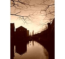 Castlefield at Dusk Photographic Print