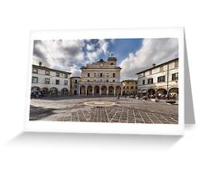 Montefalco Square Greeting Card