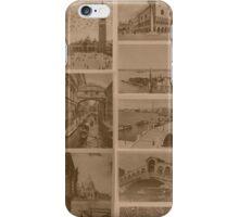 Vintage Venice Lagoon iPhone Case/Skin