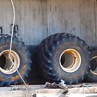 Old Tires by WildestArt