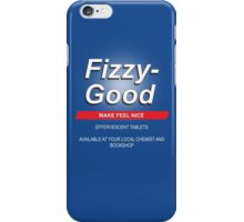 Fizzy Good - Black books iPhone Case/Skin