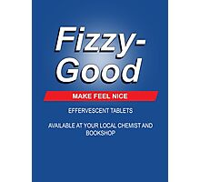 Fizzy Good - Black books Photographic Print