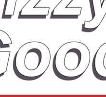 Fizzy Good - Black books Sticker