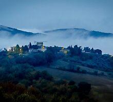 Low Cloud in Umbria by David Bradbury