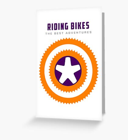 Cycling -  Superpower, Riding Bikes Greeting Card