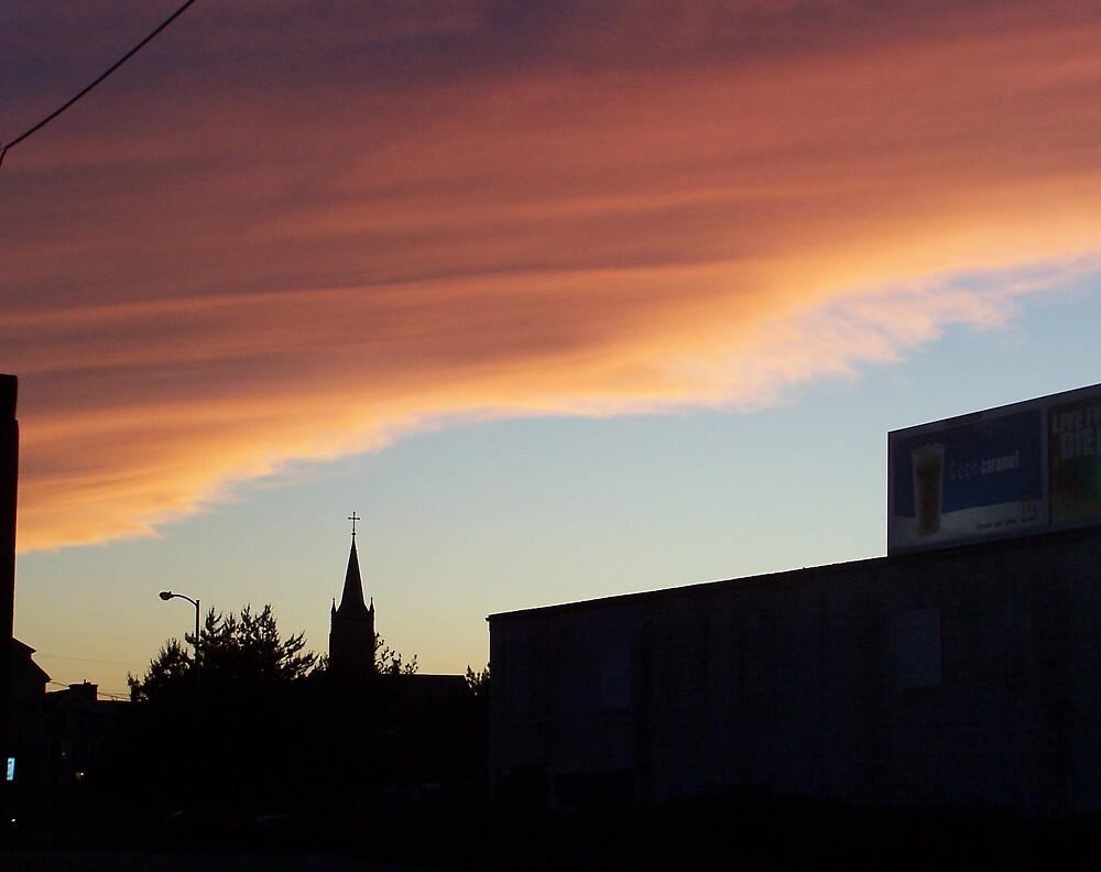 City sunset by missliz