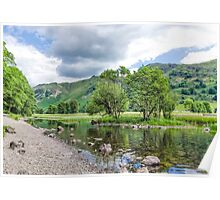 Brothers Water Lake District Poster