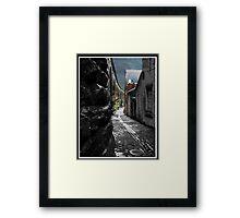 Sur la Pont D'Accrington Framed Print