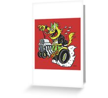 You feeling lucky punk? Greeting Card