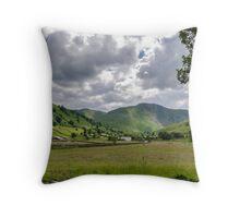 Hartsop Valley Lake District Throw Pillow