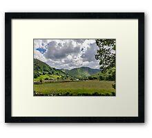 Hartsop Valley Lake District Framed Print