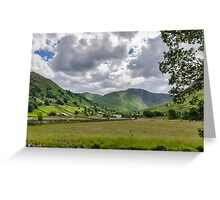 Hartsop Valley Lake District Greeting Card