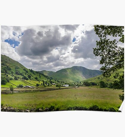 Hartsop Valley Lake District Poster