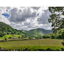 Hartsop Valley Lake District Photographic Print