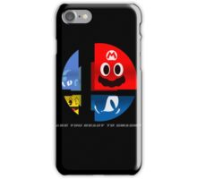 Are Ready to Smash? (Silhouette Var.) iPhone Case/Skin
