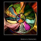 Color Wheel - Cool Stuff by Maria A. Barnowl