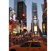 Times Square overload Photographic Print