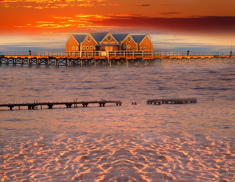 Picasso Angles of the Busselton Jetty by Carlz