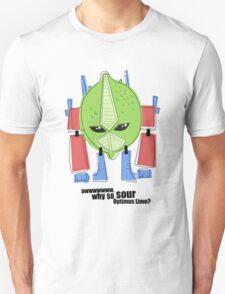 Optimus Lime. T-Shirt