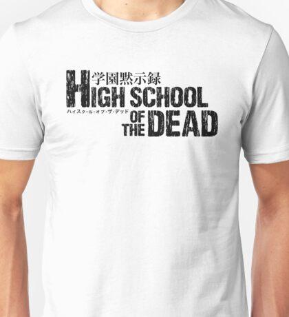High School Of The Dead Logo Unisex T-Shirt