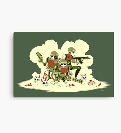 Robot Army Canvas Print