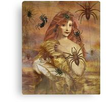 Spider Bite Canvas Print