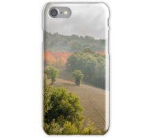 Umbria Misty Fields iPhone Case/Skin