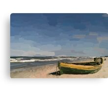 At the seaside. Canvas Print