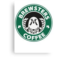 Brewsters Coffee Canvas Print