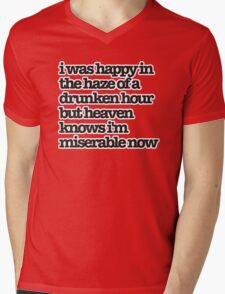 The Smiths Song Lyrics Mens V-Neck T-Shirt