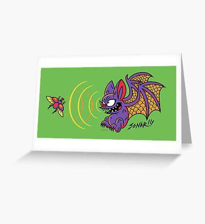 SONAR!!! Greeting Card