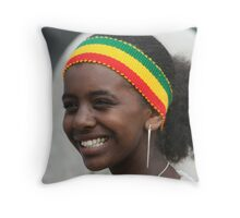Cultral day Auckland New Zealand Throw Pillow
