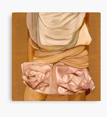 mini jupe Canvas Print
