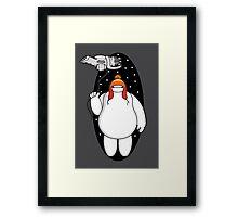Big Shiny Hero Framed Print