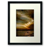 Carrums Light Spectacular Framed Print