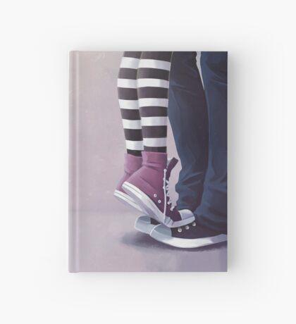 Kiss me plz Hardcover Journal