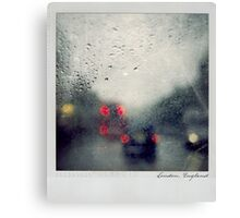 Rain Polaroïd Canvas Print