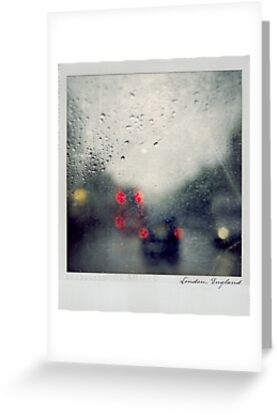 Rain Polaroïd by Laurent Hunziker