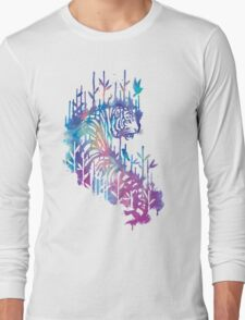 Watercolor tiger Long Sleeve T-Shirt