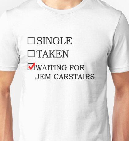Waiting for Jem Carstairs Unisex T-Shirt