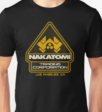 Nakatomi Trading Corporation.  Unisex T-Shirt