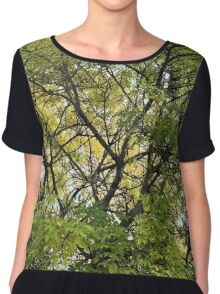 Up in the trees Women's Chiffon Top