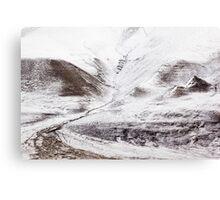 First Snow Svalbard 5 Canvas Print