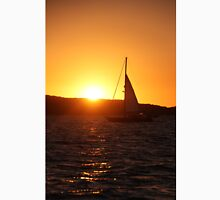 Sunset sail. Unisex T-Shirt